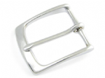 32mm Chromed Solid Brass Belt Buckle. Code AZ9